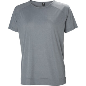 Helly Hansen HP Racing T-Shirt Dames, grey melange